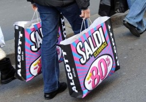 Распродажи в Италии 2014
