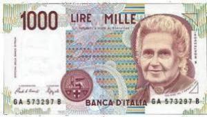 Экс валюта италии - лира