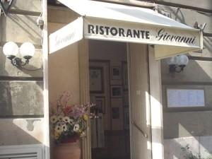 Da giovannni - один из лучших ресторанов Рима