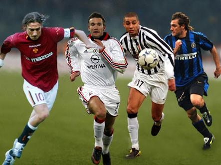 футбольные клубы италии список