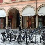 Велосипедная стоянка в Болонье