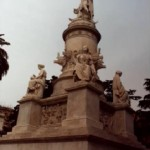 Памятник великому первооткрывателю Христофору Колумбу