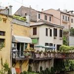Жилой квартал города Падуи