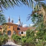 Ботанический сад в Падуе, вид на университет