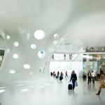 Футуристический дизайн вокзала Болоньи