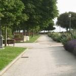 Парковая зона крепости св. Варвары в городе Сиена