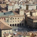 Вид на площадь Болоньи с высоты птичьего полета