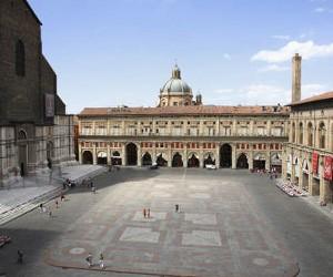 Piazza Maggiore достопримечательность Болоньи