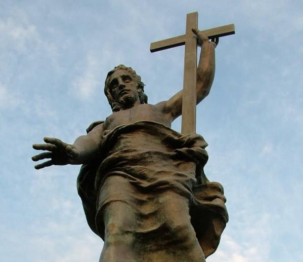 Статуя Христа на горе Ортобене