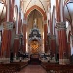 Внутреннее убранство базилики святого петрония