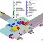 Схема первого уровня аэропорта в Кальяри