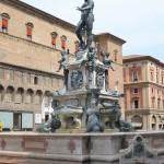 Фонтан Нептун в Болонье