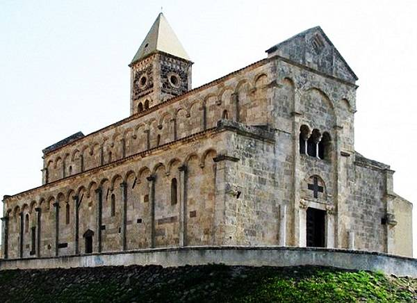 Церковь Санта-Джуста в Ористано