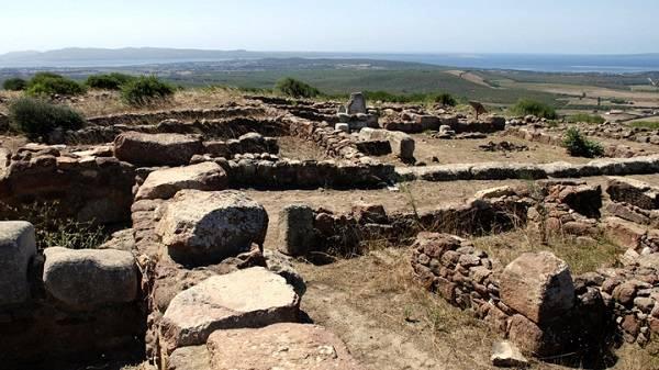 Древний город в Сант-Антиоко