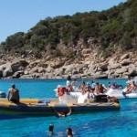 Пляж Cala Luna в Сардинии