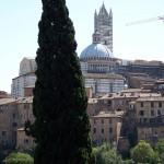 Город Сиена в Италии