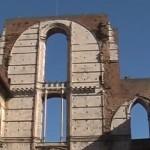 Недостроенная часть сиенского собора