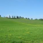 Местность возле Сиены