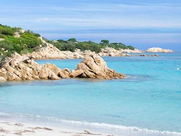Пляж Спьяджа делль Принчипе в Сардинии