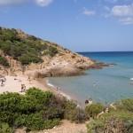 Пляж в Сардинии Чио