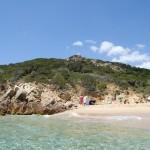 Пляж Киа (Chio) в Сардинии