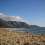 Сардинский пляж Спьяджа-Коккороччи