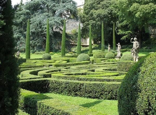 Сад Джусти в Вероне