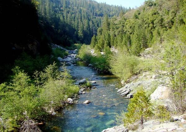 Река Рубикон близ Римини