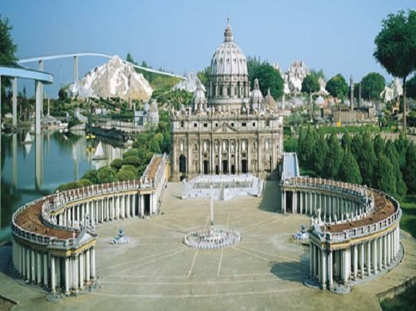 """Парк """"Италия в миниатюре"""" в Римини"""