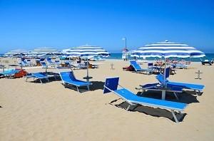 Шикарные пляжи Римини