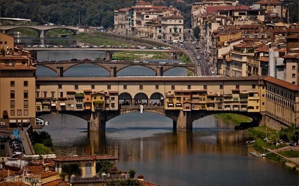 Мост во Флоренции - Понте Веккьо
