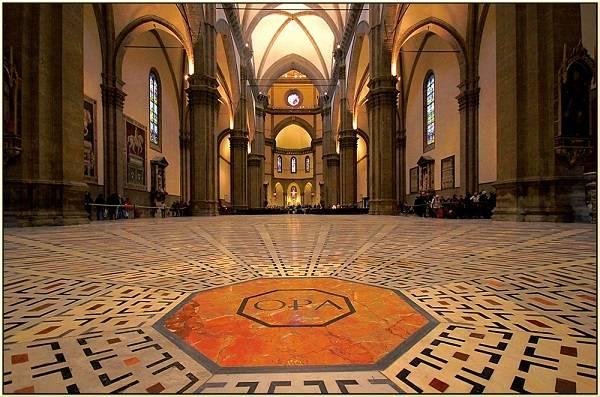 Внутренее оформление собора