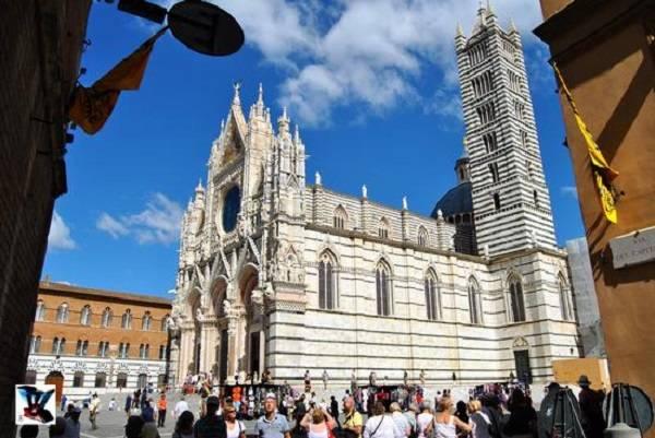Достопримечательность Тосканы - сиенский кафедральный собор
