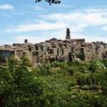 Городок в Гросетто Pitigliano
