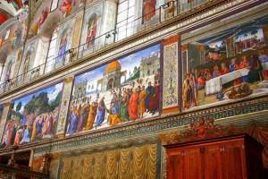 Сикстинская капелла Микеланджело