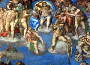 Микеланджело Буонарроти страшный суд
