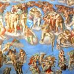 Картина Микеланджело Страшный суд